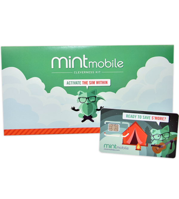 Mint Mobile: 12GB 4G LTE Plan w/ SIM for $15 per month