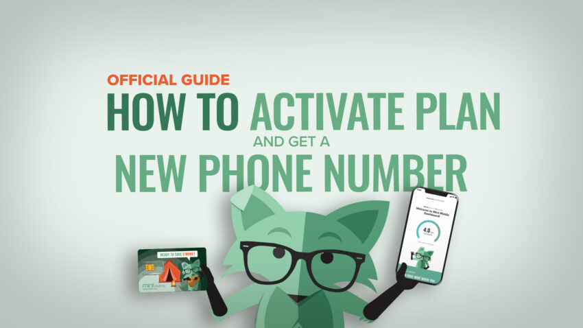 How to activate new number