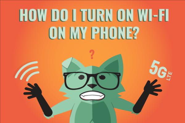 how do I turn on wi-fi on my phone